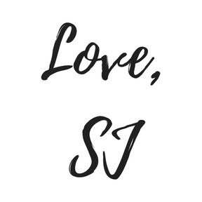 Love,SJ